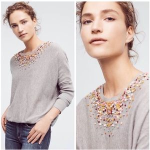 Anthropologie Angel of the North Confetti Sweater
